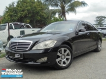 2007 MERCEDES-BENZ S-CLASS S300L 3.0 V6 W221 Sunroof Powerboot VacuumDoor LikeNEW