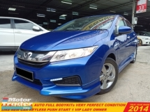 2014 HONDA CITY 1.5 E FACELIFT (A)KEYLESS FULL BODYKITS  LIKE NEW