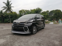 2015 TOYOTA VELLFIRE 2.5 ZG SUNROOF LEATHER JBL UNREGISTERED