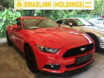 2016 FORD MUSTANG GT COUPE 2.3 COUPE 2.3 ECOBOOST SHAKER SOUND SYSTEM NEW CAR CONDITION