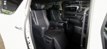2016 TOYOTA ALPHARD 2.5 SC FULLSPEC UNREG.TRUE YEAR MADE CAN PROVE.SUNROOF.ORI JBL HOME THEATER.PILOT SEAT.ORI LEATHER.3 POWER DRS N BOOT.360 CAMERA.LED LIGHT N ETC.FREE WARRANTY N MANY GIFTS