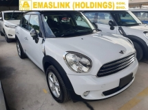2014 MINI Cooper Crossover 1.6 Rear Camera Local AP Unreg