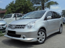 2011 NISSAN GRAND LIVINA 1.6 ST-L IMPUL TipTOP Condition LikeNEW