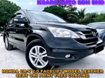 2012 HONDA CR-V CR-V FACELIFT MODEL LEATHER SEAT FREE COaTING