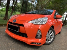2013 TOYOTA PRIUS C 1.5 (AT) FULL SERVIS REKOD TOYOTA ONE OWNER