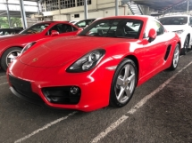 2016 PORSCHE CAYMAN Unreg Porsche Cayman 2.7 PDK Semi Leather Seats Tiptronic 7Speed