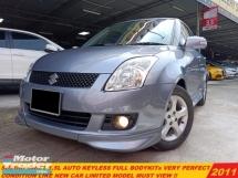 2011 SUZUKI SWIFT 1.5 AT FACELIFT KEYLESS FULL BODYKITs LIKE NEW CAR
