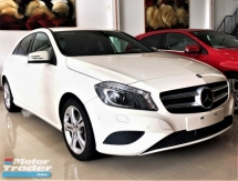 2014 MERCEDES-BENZ A-CLASS A180 SPECIAL EDITION + CIRRUS WHITE SOLID COLOR  + JAPAN PREMIUM SELECTION SPEC UNREGISTERED