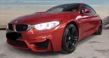2014 BMW M4 3.0L Unreg Full Spec