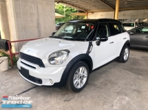 2014 MINI Cooper S Cooper Countryman S 1.6 Turbocharged 184hp 6 Speed Shiftronic Paddle Shift Steering Push Start Button Zone Climate Control 1 Year Warranty Unreg
