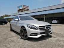 2014 MERCEDES-BENZ C-CLASS C180 AVANTGARDE UNREGISTERED