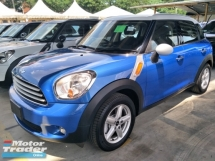 2014 MINI Countryman 1.6 PUSH START BUTTON SAVE PETROL MINI CAR FREE WARRANTY LOCAL AP