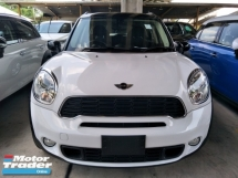 2014 MINI Countryman 1.6 S TURBO PADDLE SHIFT 17 SPORT RIM PUSH START BUTTON FREE WARRANTY LOCAL AP