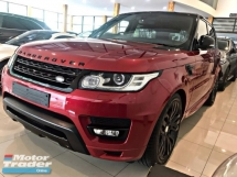 2015 LAND ROVER RANGE ROVER SPORT AUTOBIOGRAPHY DYNAMIC HOT RED SPECIAL PROMOTION BAGI JADI JAA