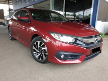2017 HONDA CIVIC 1.8S HASSLE FREE WARRANTY UNTILL 2022 ACCIDENT FREE