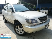1999 TOYOTA HARRIER HARRIER G PACKAGE 2.2(A) LEATHER SEAT TIP-TOP