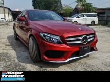 2016 MERCEDES-BENZ C-CLASS C200 2.0 AMG SPORT JAPAN SPEC UNREG