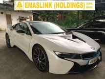 2016 BMW I8 i8 1.5 COUPE TURBOCHARGED HUD FULL VIEW CAMERA (RM) 508,000.00