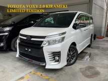 2015 TOYOTA VOXY 2.0 KIRAMEKI LIMITED EDITION ** BABY VELLFIRE MPV / MEGA SPEC ** FREE 4 YEAR WARRANTY ** BEST OFFER **