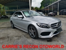 2016 MERCEDES-BENZ C-CLASS C200 AMG - JAPAN SPEC - UNREGISTERED