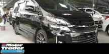2014 TOYOTA VELLFIRE GS SPORT EDITION / 1 POWER DOOR / TOYOTA MONITOR 7 4 YR WARRTY / READY STOCK NO NEED WAIT