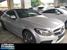 2016 MERCEDES-BENZ C-CLASS 2.0 coupe turbo amg spec memory bucket leather seats auto cruise panaromic roof free warranty