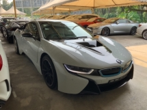 2016 BMW I8 1.5 hybrid electric coupe head up display surround camera push start electric seat unregistered