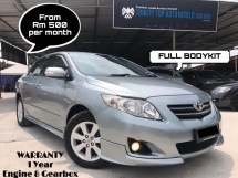 2011 TOYOTA COROLLA ALTIS 1.6 E FACELIFT - BODYKIT - FULL SERVICE - WARRANTY - NICE PLATE - DONE COATING - ALL ORIGINAL - MEGA SALE PROMOTION
