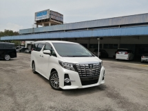2016 TOYOTA ALPHARD 2.5 SC EDITION JBL 4 CAMERA UNREGISTERED