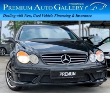 2005 MERCEDES-BENZ CLK CLK200 KOMPRESSOR AMG SPORTS EDITION