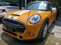 2014 MINI 3 DOOR Cooper S 2.0 Turbo Unreg (Rare Color)