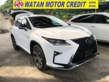 2016 LEXUS RX 200T F SPORT ACTUAL YEAR MAKE 2016 NO HIDDEN CHARGES