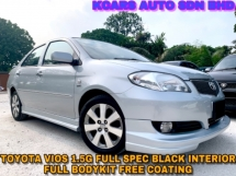 2007 TOYOTA VIOS 1.5G (AT) FULL SPEC ORI CONDITION FREE COATING