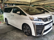 2018 TOYOTA VELLFIRE 2.5 FULL SPEC 3 LED HEADLAMPS NAPPA LEATHER PILOT MEMORY SEATS  SUNROOF 360 SURROUND CAMERA