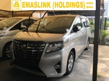 2015 TOYOTA ALPHARD 2.5 X 8S MPV POWER DOOR CAMERA