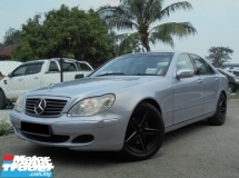 2002 MERCEDES-BENZ S-CLASS S280 2.8 W220 TipTOP Condition LikeNEW