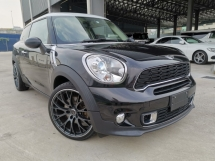 2014 MINI PACEMAN S 1.6T WHITE ROOF REVERSE CAMERA UNREG