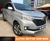 2015 TOYOTA AVANZA 1.5 G (A) FACELIFT PROMOTION