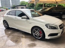 2015 MERCEDES-BENZ A45 A45 AMG 4MATIC 2.0 Turbocharged 360hp Speed-Shift 7G-DCT Distronic PLUS Pre-Collision Smart Entry Push Start Button Memory Seat Multi Function Paddle Shift Steering Bi-Xenon Reverse Camera Bluetooth Connectivity Unreg
