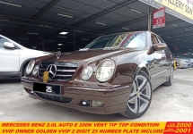 2000 MERCEDES-BENZ E-CLASS Mercedes Benz E200 K (CKD) 2.0 (A) TIP TOP