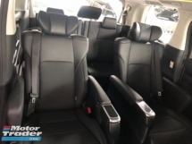 2018 TOYOTA VELLFIRE Unreg Toyota Vellfire ZG 2.5 Pilot 7seats 360view PowerBoot Sunroof 3LED Push Start 7G
