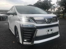 2018 TOYOTA VELLFIRE 2.5ZG Edition SPEC-ANDROID PLAYER,PREMIUM SOUND SYSTEM [MERDEKA PROMOTION] GUARANTEE LOWEST PRICE IN TOWN