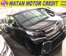 2015 TOYOTA VELLFIRE 2.5 ZG SUNROOF NAPPA LEATHER PRECRASH 2015 JAPAN UNREG