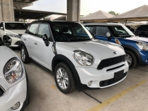 2014 MINI Countryman Cooper S 1.6 Turbocharged 184hp 6-Speed Shift-Tronic Project Bi-Xenon Light S-Paddle Shift Steering Bucket Seat Zone Climate Control Unregistered