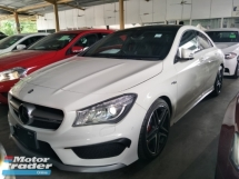 2014 MERCEDES-BENZ CLA 45 2.0 SCROLL TURBO 360 HP PANAROMIC ROOF PRE CRASH STSYEM PUSH START BUTTON KEYLESS AUTO CRUISE