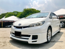 2011 TOYOTA WISH 1.8G (A) 1OWNER FULOAN OTR RIGISTER ON 2015 CAN APPLY LOAN WITHOUT DRIVING  LICENCE