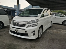 2014 TOYOTA VELLFIRE 2.4 Z EDITION UNREGISTERED LOCAL AP