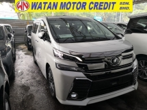 2017 TOYOTA VELLFIRE 2.5 ZG SUNROOF 360 CAM PRE CRASH JAPAN UNREG