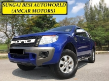 2013 FORD RANGER 2.2 (A) 4WD HI RIDER TURBO 6 SPEED