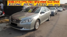 2013 TOYOTA CAMRY 2.0G Facelift (CKD Local Spec)